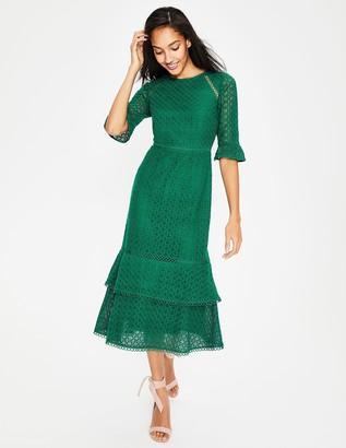 Lana Lace Midi Dress