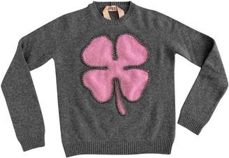 N°21 N21 Grey Wool Knitwear for Women