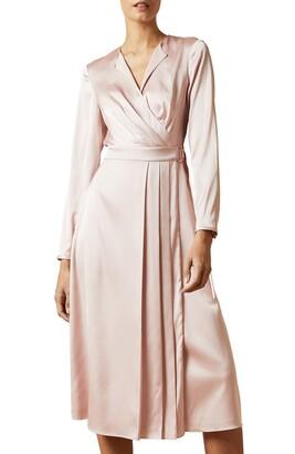 Ted Baker Neenha Long Sleeve Wrap Dress
