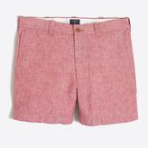 "J.Crew Factory 5"" linen-cotton Varick short"