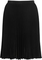 Neil Barrett Pleated crepe skirt