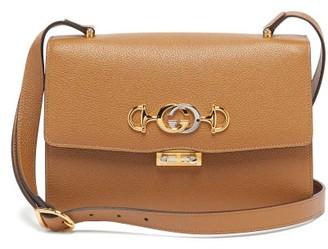 Gucci Zumi Small Leather Cross-body Bag - Womens - Beige
