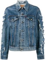 R 13 x Levis repurposed denim jacket