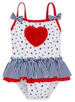 Little Me Baby Girls Star-Print One-Piece Swimsuit