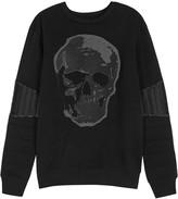 Philipp Plein United Skull-print Cotton Sweatshirt