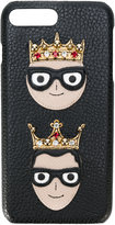 Dolce & Gabbana crown patch iPhone 7 Plus case
