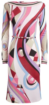 Emilio Pucci Geometric Print Dress