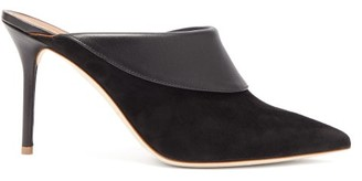 Malone Souliers Tilly Suede-leather Mules - Womens - Black