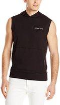 Armani Jeans Men's Regular Fit Sleeveless Hoodie, Small