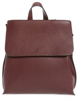 Sole Society Selena Faux Leather Backpack - Red