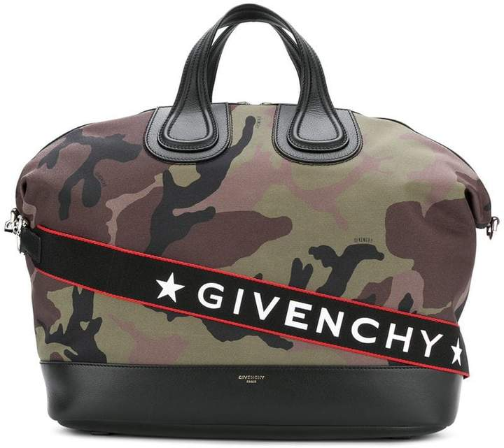 Givenchy Nightingale camouflage tote