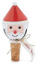 Mud Pie Holiday Santa Wine Cork Stopper