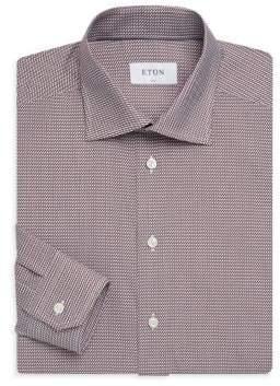 Eton Slim-Fit Woven-Print Shirt