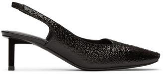 Alyx Black Betta Slingback Heels