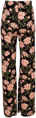 Nicole Miller Wide Leg Print Pant