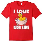 Kids I Love Bubble Baths Funny Cute Rubber Duckie Bath T-Shirt 6