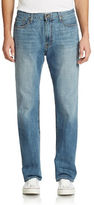 Lucky Brand 181 Relaxed Straight Light Cardiff Wash Jeans