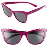 Valentino Garavani Women's Valentino Rockstud 54Mm Cat Eye Sunglasses - Fuchsia