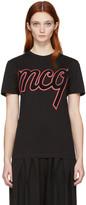 McQ by Alexander McQueen Black Classic Logo T-shirt