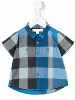 Burberry checkered shirt - kids - Cotton - 6 mth
