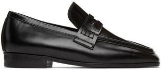 Low Classic Black Classic Smooth Loafers