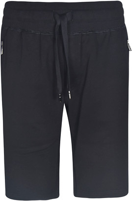 Dolce & Gabbana Side Zipped Pocket Drawstring Shorts