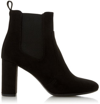 Head Over Heels Ollia Block Heel Round Toe Ankle Boots