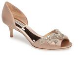 Badgley Mischka Barclay Kitten Heel d'Orsay Sandal (Women)
