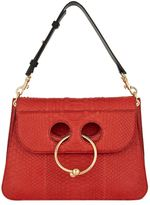 J.W.Anderson Medium Pierce Python Shoulder Bag