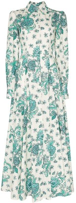Evi Grintela Jasmine printed maxi dress