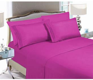 Elegant Comfort 3-Piece Luxury Soft Solid Bed Sheet Set Twin/Twin Xl Bedding