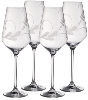 Villeroy & Boch Old Luxembourg Brindille Red Wine, Set of 4