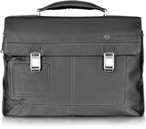 Piquadro Vibe - Front Pocket Laptop & i-Pad Briefcase