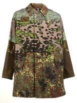 Herno multi-print coat