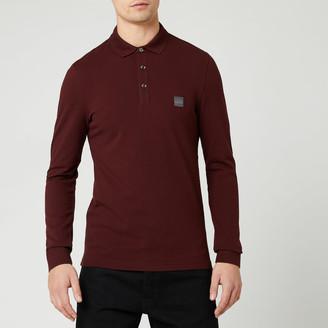 HUGO BOSS BOSS Men's Passerby Polo Long Sleeve Shirt
