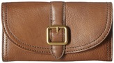 Frye Claude Buckle Wallet Wallet Handbags