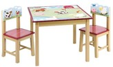 The Well Appointed House Guidecraft Farm Theme Table and Chairs Set for Kids