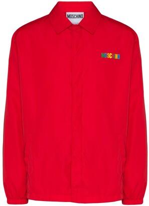 Moschino Logo-Embellished Jacket