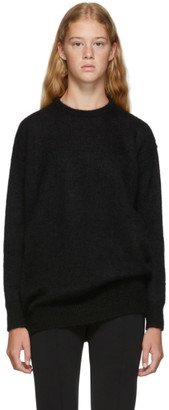 Max Mara Black Relax Knitted Sweater