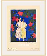 1921 The Courtauld Gallery, Gazette Du Bon Ton - No6 Robes de Garden-Party Print, 50 x 40cm