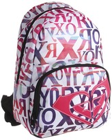Roxy School Run Backpack (Sea Salt) - Bags and Luggage