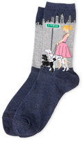 Hot Sox City Dog Walker Socks