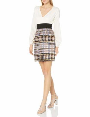 Milly Women's Nicola Deep-V Dress