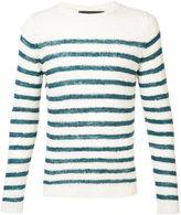 The Elder Statesman cashmere Picasso jumper - unisex - Cashmere - XS