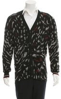 Lanvin Wool V-neck Cardigan w/ Tags