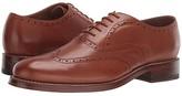 Bostonian Rhodes Brogue (Tan Leather) Men's Shoes