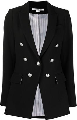 Veronica Beard Decorative-Button Blazer