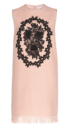 Andrew Gn Embroidered Mini Dress