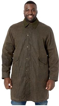 Filson Trench Coat (Olive/Brown) Men's Coat