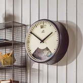 Graham and Green Mechanimated Black Weather Clock